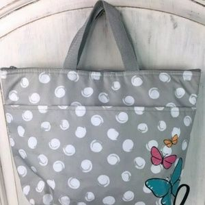 Thirty One Gray White Insulated Thermal Lunch Cool